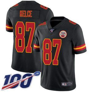 Chiefs Travis Kelce 100th Season Jersey